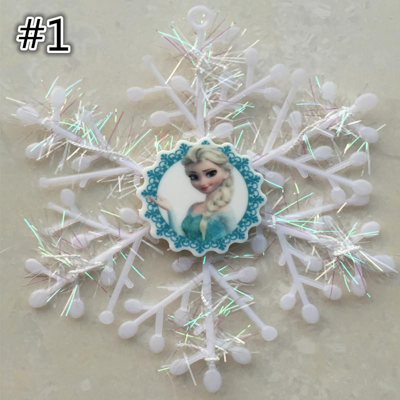 Christmas! Frozen Anna Elsa Snowflakes Christmas Tree Decorations ...