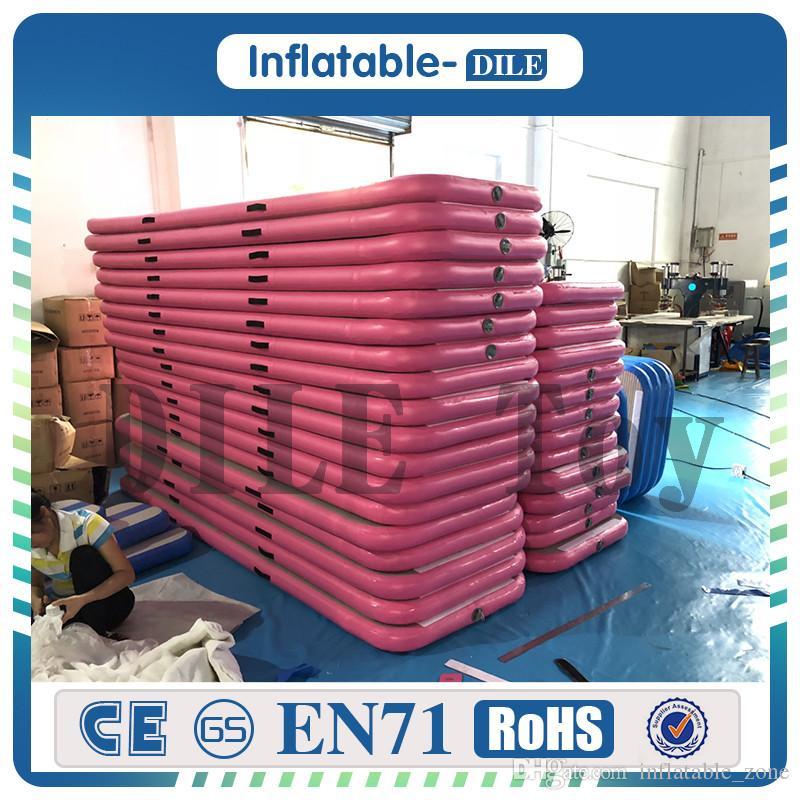 Freies Verschiffen Tür zu Tür 6x1x0, 1 MT Gymnastik Aufblasbare Air Track Taumeln Matte Gym AirTrack zu Verkaufen