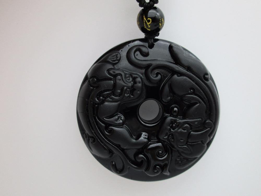 Wholesale natural black obsidian hand carved chinese pixiu lucky wholesale natural black obsidian hand carved chinese pixiu lucky amulet pendant free necklace fashion fine jewelry love necklace diamond heart necklace from aloadofball Choice Image