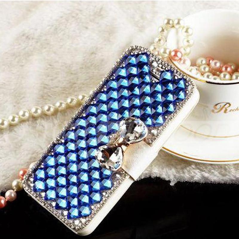 Для Iphone 6 плюс 5 Samsung Galaxy S6 Примечание 5 роскошные мода Алмаз сотовый телефон чехол с Bling Pearl кредитной карты держатель