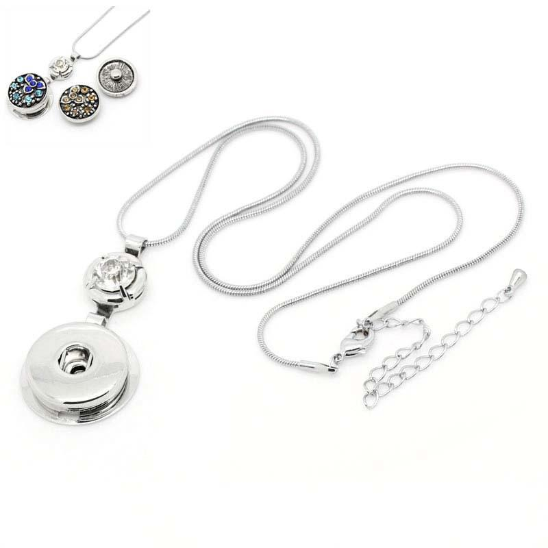 NOOSA Ginger necklaces K white lobster clasp Noosa pendant with snake chain necklace personality snap button