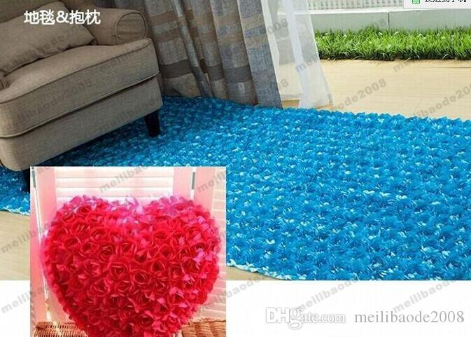 New 2015 Romantic Wedding Centerpieces Favors 3D Rose Petal Carpet Aisle Runner For Wedding Party Decoration Supplies MYY15400