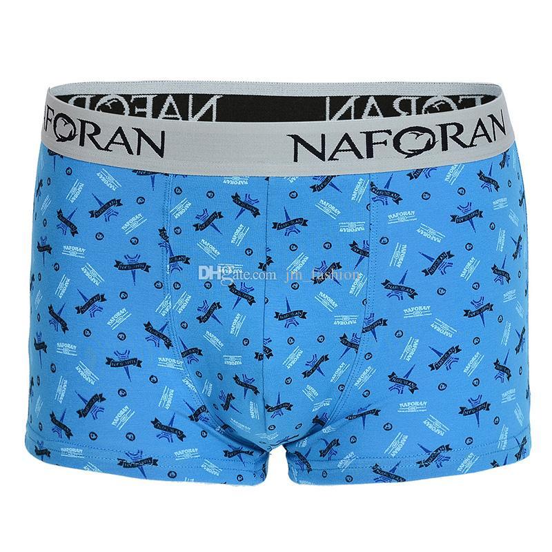 Marca de moda TOM U Design Convexo Respirável Cueca Homens Boxer Confortável de Algodão Puro Sexy Homens Cueca Boxers Shorts Cuecas