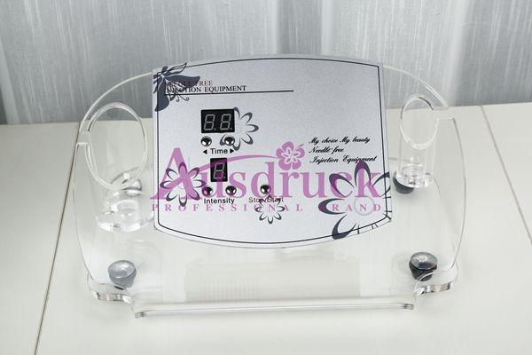 Gratis verzending Draagbare Mini Naald Gratis Mesotherapie Gezichtsmachine Anti Aging Skin Care Sproetle Rimpel Removal Beauty Equipment CE