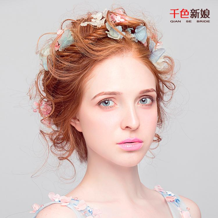 2016 new bride blossom fairy hand living flower bride headdress 2016 new bride blossom fairy hand living flower bride headdress flower hair accessories baos female wedding dress accessories bridal hair combs vintage junglespirit Image collections