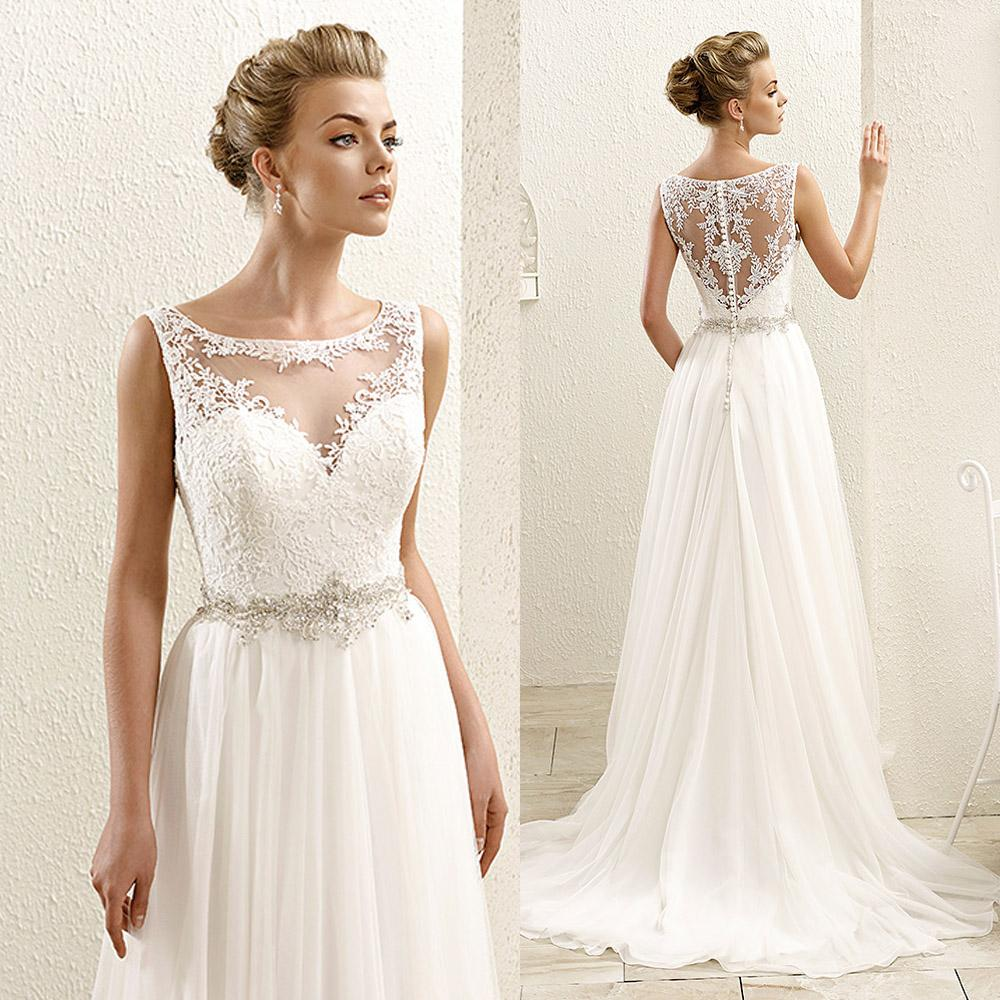 discount bohemian white boho plus size wedding dresses
