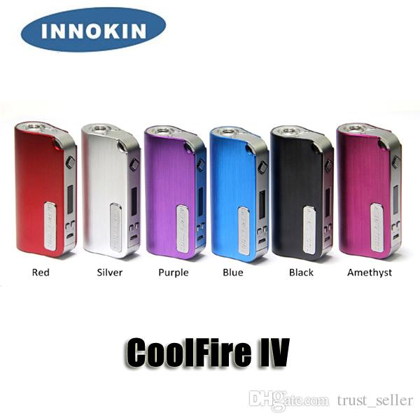 Authentic Innokin Coolfire IV 40W Coolfire IV Plus 70W Box Mod 2000/3300mAh Variable Votage Wattage Coolfire 4 battery