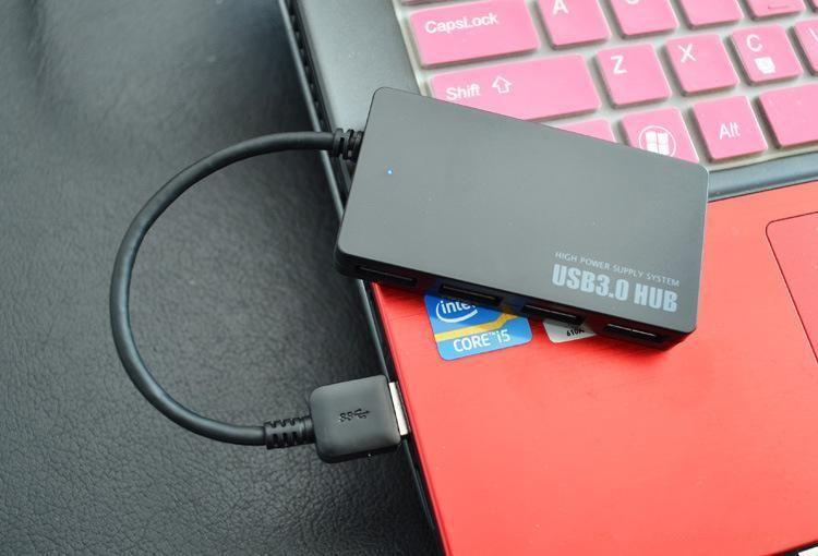 DHL Shipping USB 3.1 Type-C Male to 3.0 USB Multiple 4 Ports Adaptador USB Hub para PC Laptop Tablet para Apple Macbook