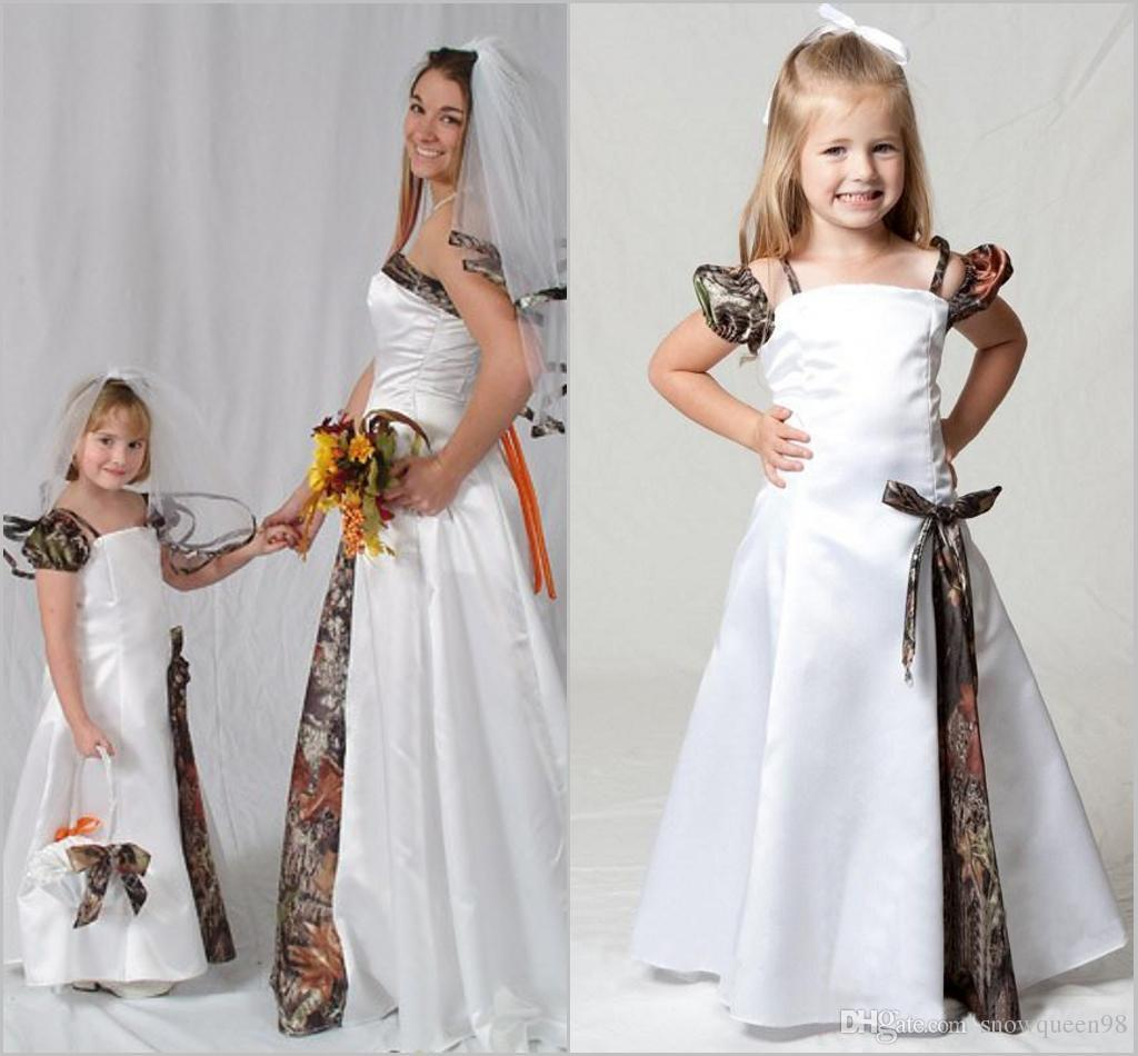 2016 cute camo flower girls dresses floor length cheap camo 2016 cute camo flower girls dresses floor length cheap camo dresses for a little girl lovely comunion dresses custom made dress for wedding red flower girl ombrellifo Image collections