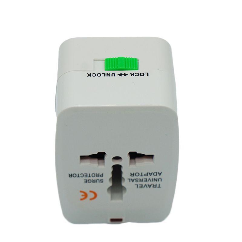 Лучшее качество универсальный международный адаптер путешествия зарядное устройство переменного тока ЕС США AU Великобритания все в одном конвертер вилка с розничной упаковке