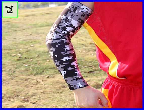 Спорт на открытом воздухе цифровой камуфляж кемпинг путешествия Стрельба из лука вождение Велоспорт рукав защитный рукав