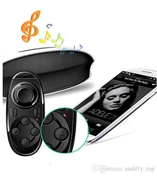 3in1 Bluetooth Joystick Gamepad Controller Multifunction Selfie Remote Shutter Wireless Mouse for iPhone Laptop TV Box VR 3D Glasses