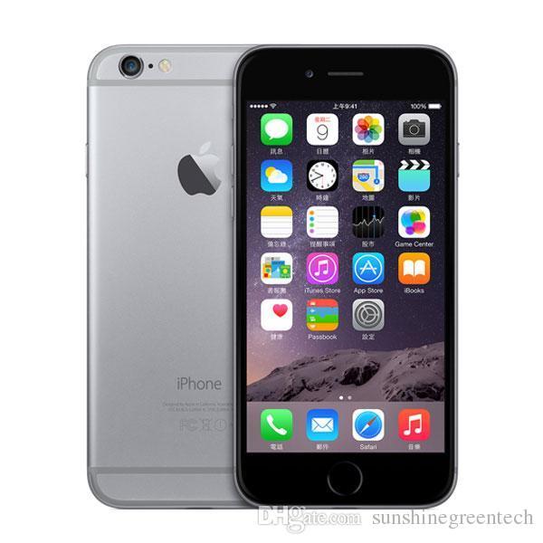 100% Original Remis à neuf Apple iPhone 6 Plus Téléphones Cellulaires 16G 64G IOS Or Rose 5.5