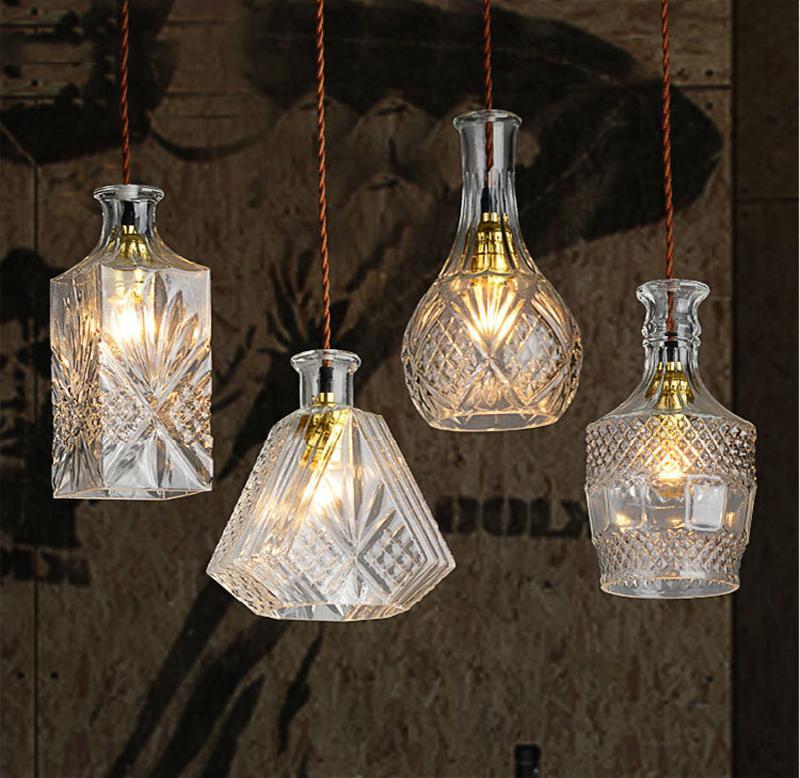 lámpara techo lámparas lámpara 007 Dimmable 110 Chandeliers vino lámparas baratos salón bl G9 LED 1M colgante 240V LED colgantes Tom de colgante lcJK1TF