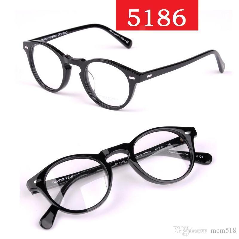 Vintage Optical Glasses Frame Oliver Peoples Ov5186 Eyeglasses ...