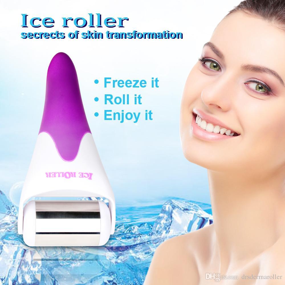 2015 best selller Corea viso e corpo massaggiatore Skin Cooling Roller Derma Roller