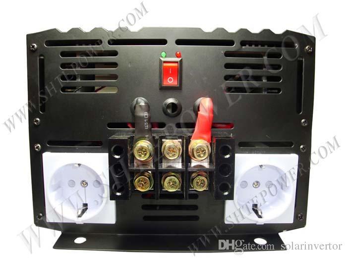 Home Systeem Zonne-energie DC aan AC OFF RID PURE SINE SINE WAVE INVERTER 12V 220V 6000W