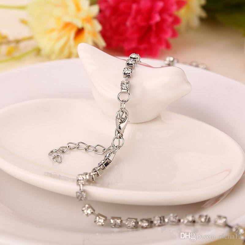 Cadenas de cristal helado El corazón del océano Collar colgantes de diamantes Collar de diseñador titánico Joyería de diseño de lujo collar de mujer