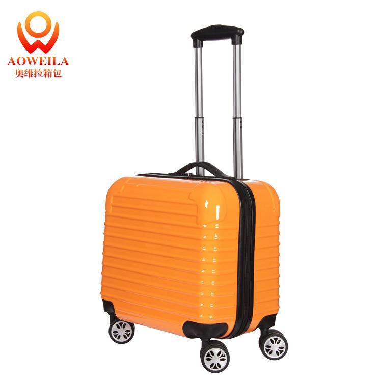 Olvera Abs End 16 Inch Suitcase Small Business Men Travel Luggage ...