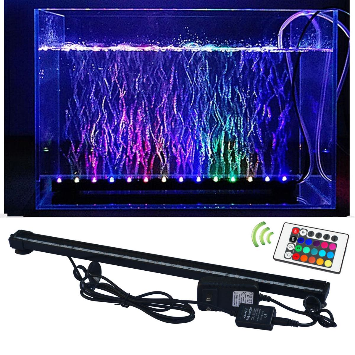 2018 Rgb Fish Tank Plant L& Underwater Bubble Light L& With Remote Controller Aquarium Led Lighting From Ledyourlife $21.71 | Dhgate.Com  sc 1 st  DHgate.com & 2018 Rgb Fish Tank Plant Lamp Underwater Bubble Light Lamp With ... azcodes.com