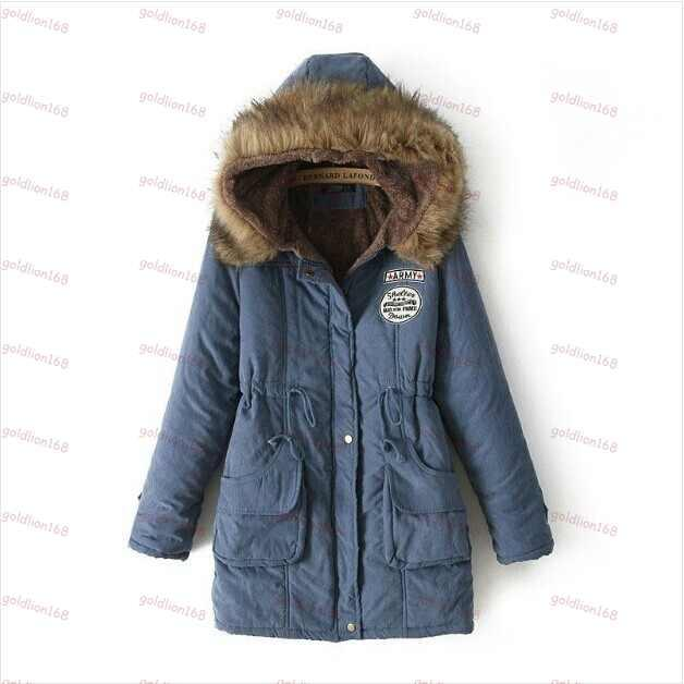 Best 2015 Winter Coats Women Fleece Lined Down Jackets Cotton ...