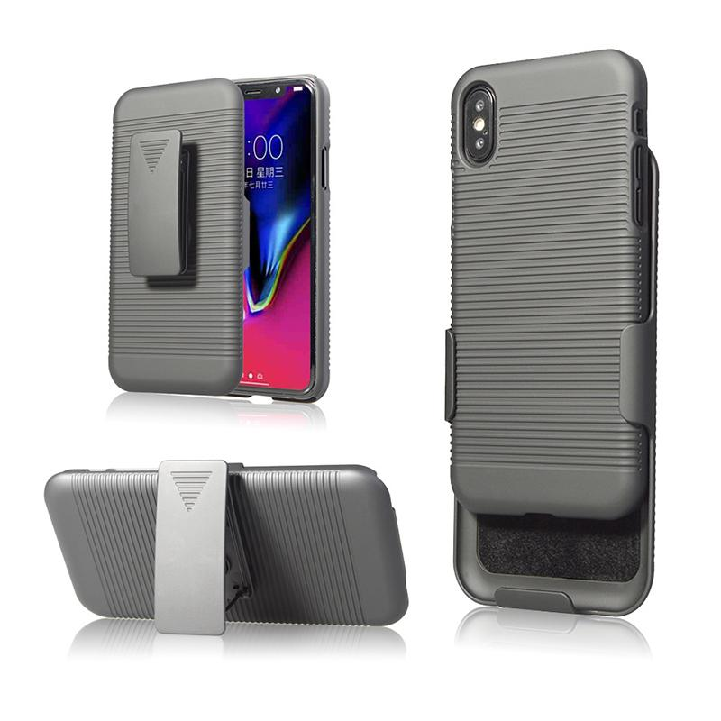 huge selection of 704af 12ca4 2 in 1 For iphone X case Swivel Belt Clip hybrid Holster Stand Phone Cases  For iphone X 6 7 8 plus DHL free shipping SCA373