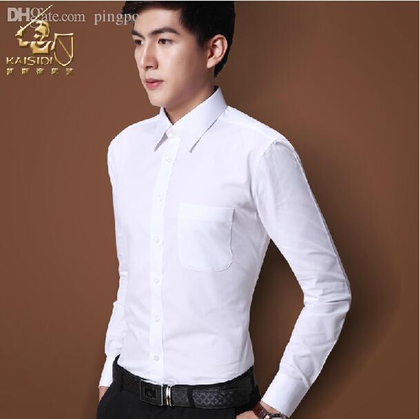 Discount Wholesale Summer Men Long Sleeve Shirt, Suit, White Shirt ...