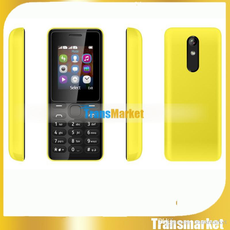 1.77Inch Cheap senior cell Phone Dual SIM Big Keyboard Loud Speaker Color Screen TFT FM Long Standby Quad Band Phone for Student,Old,105