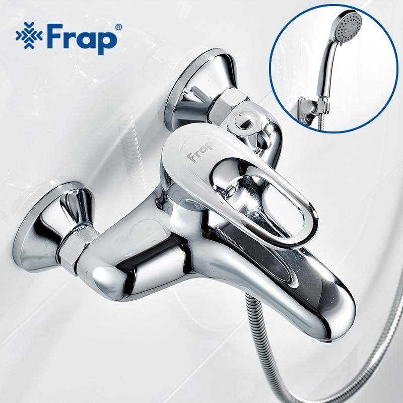Discount Frap Complete Sets Silver Bathroom Shower Faucets Bathtub ...