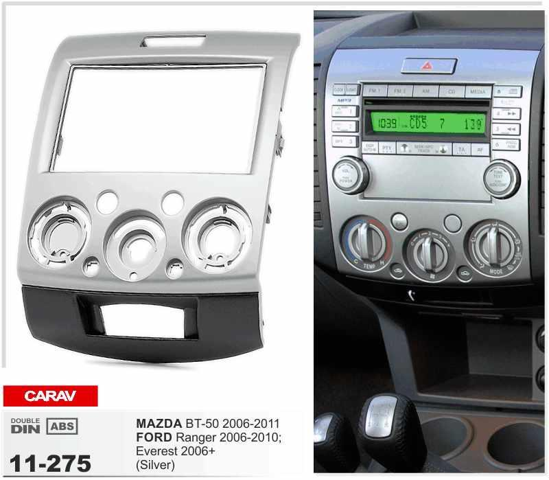 Carav 11 275 Top Quality Radio Fascia For Ford Ranger Everest Rhdhgate: 2007 2008 2009 2010 2011 Honda Element Dash Kit Double Din For Radio At Gmaili.net