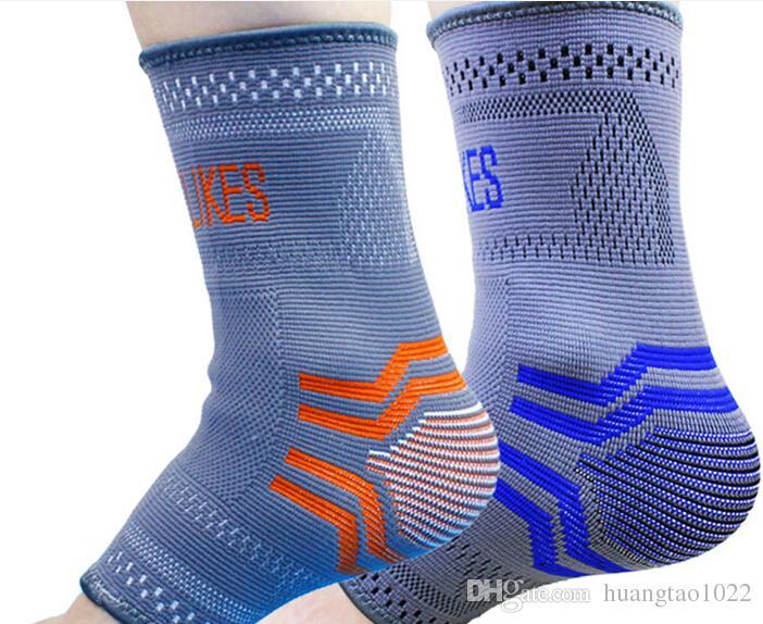 эластичная поддержка лодыжки протектор лодыжки волейбол/футбол лодыжки скобка поддержка защиты ног 2 шт./лот