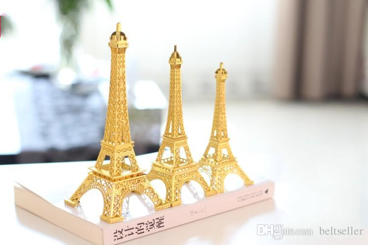 2017 Gold 3d Paris Eiffel Tower Model Home Metal Souvenir Crafts Photo Prop  Crafts Wedding Centerpieces Table Decorations Supplies From Beltseller, ... - 2017 Gold 3d Paris Eiffel Tower Model Home Metal Souvenir Crafts