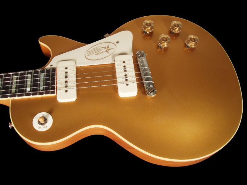 gibson flying v 1954 custom shop 54 vos r4 goldtop electric guitar fender squier from. Black Bedroom Furniture Sets. Home Design Ideas