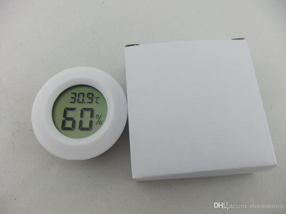 Цифровой сигары хьюмидор гигрометр термометр 1 3/4