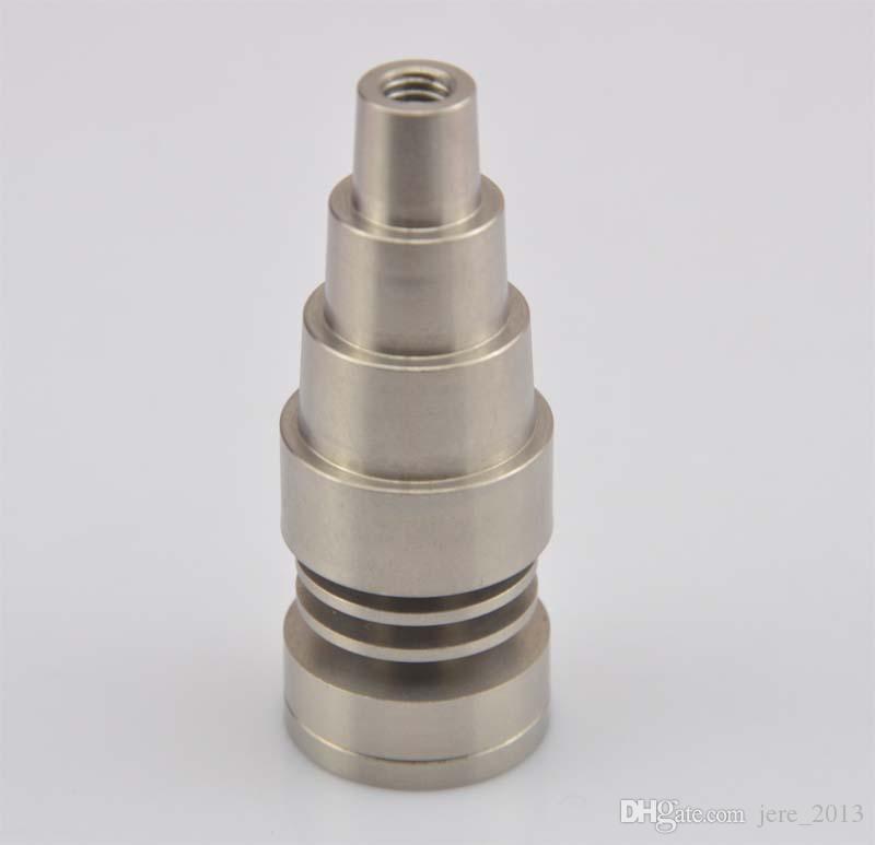 Titanium ноготь 10mm14mm19mm 6 в 1 domeless titanium ногте, с мыжским и женским соединением,быстрая перевозка груза