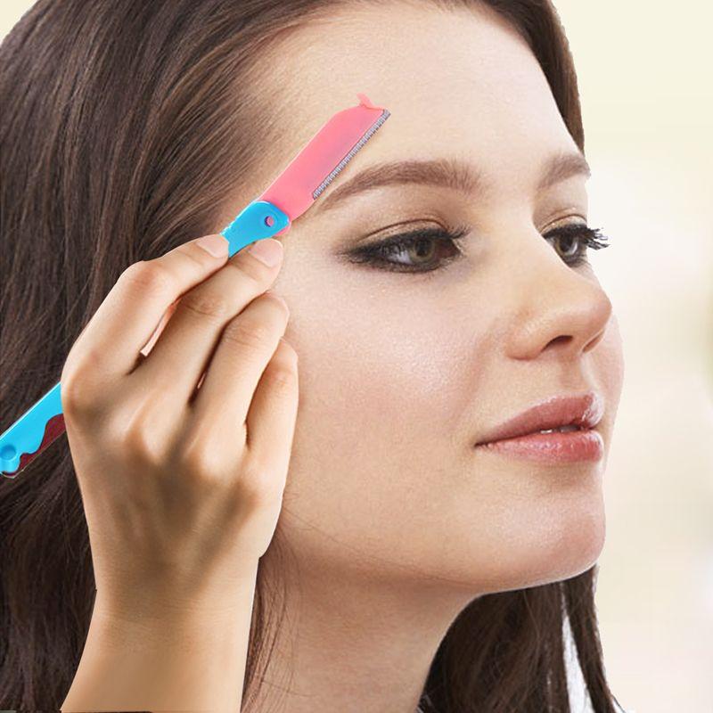 wholesale professional eyebrow trimmer kit beauty artist ladies