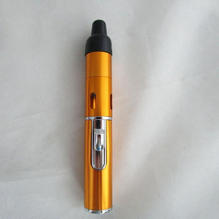 핫 도매 클릭 N Vape 몰래 A Vape 증기 초본 기화기 담배 파이프 내장 Trouch Flame 라이터 내장 방풍 토치 라이터