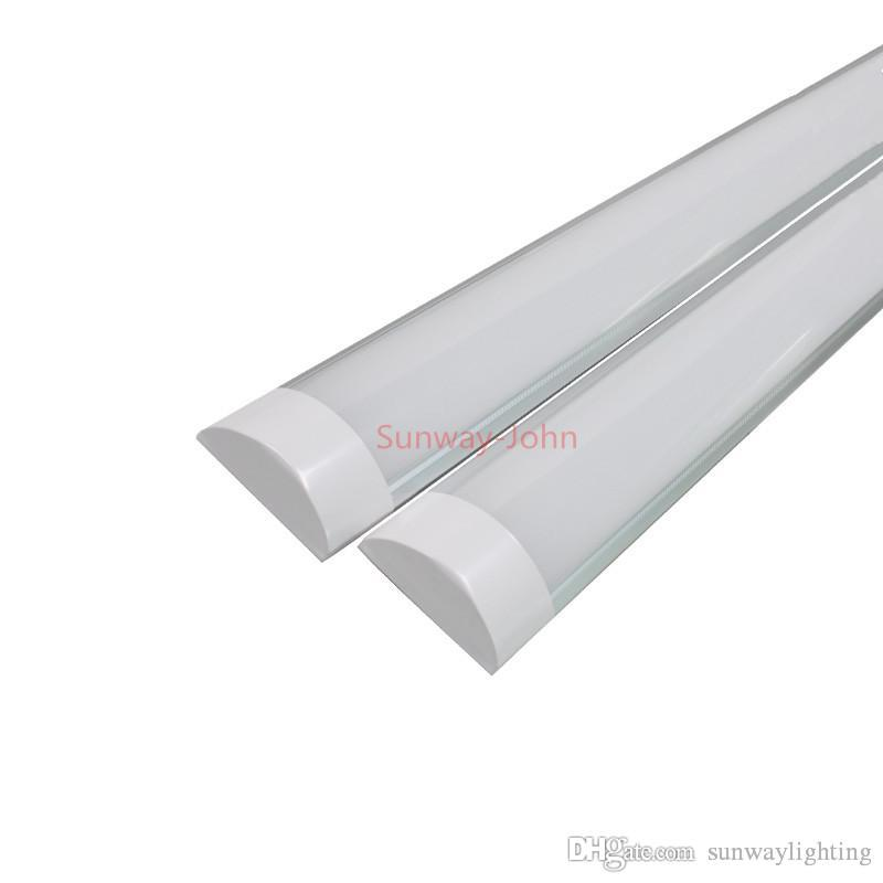 High bright surface mounted led batten tubes lights double row t8 high bright surface mounted led batten tubes lights double row t8 led tri proof lamps 2ft 20w 4ft 40w explosion led ceiling light ac110 240v led tube aloadofball Image collections