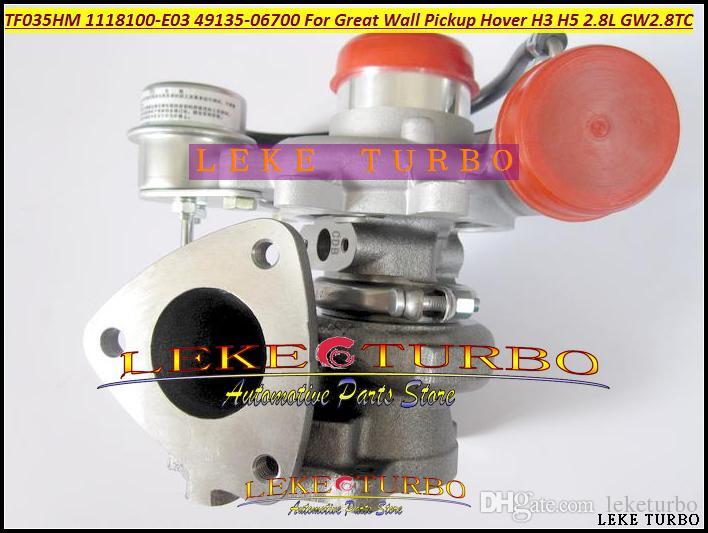 Wholesale TF035HM TF035 1118100-E03 49135-06700 1118100 E03 49135 06700ターボチャージャーターボターボチャージャーホバーH3 H5 GW2.8TC 2.8L