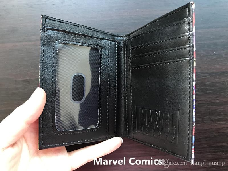 Marvel Avenger студент короткий кошелек аниме Q Ver. Студенческий Кошелек