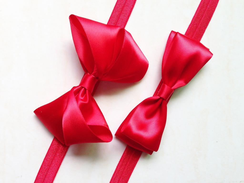 dd8cdba6887f1 Baby Girl Infant Hair Bow Ribbon Red Bow Headband Hair Accessories Children  Snow White Headband Elastic Headbands Hair Band Snow White Bow Hair  Accessories ...