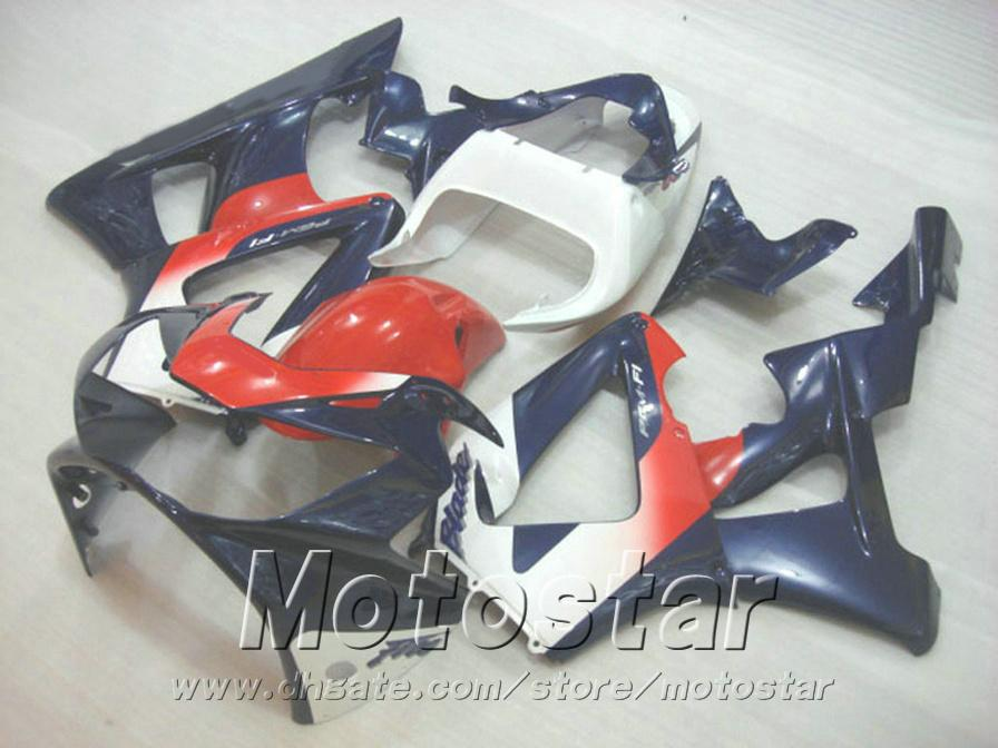 7 Gifts for HONDA CBR900RR fairing kit CBR929 2000 2001 blue red white CBR 929 RR CBR929RR fairings set HB13