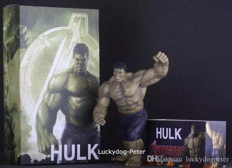 Hulk The Avengers Action Figure Dark Hulk Doll PVC ACGN figure Garage Kit Toy Brinquedos Anime 30CM