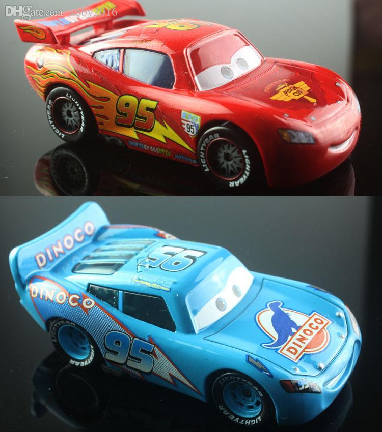 Samll Children Cars Toys No Race Car Dinoco Allinol