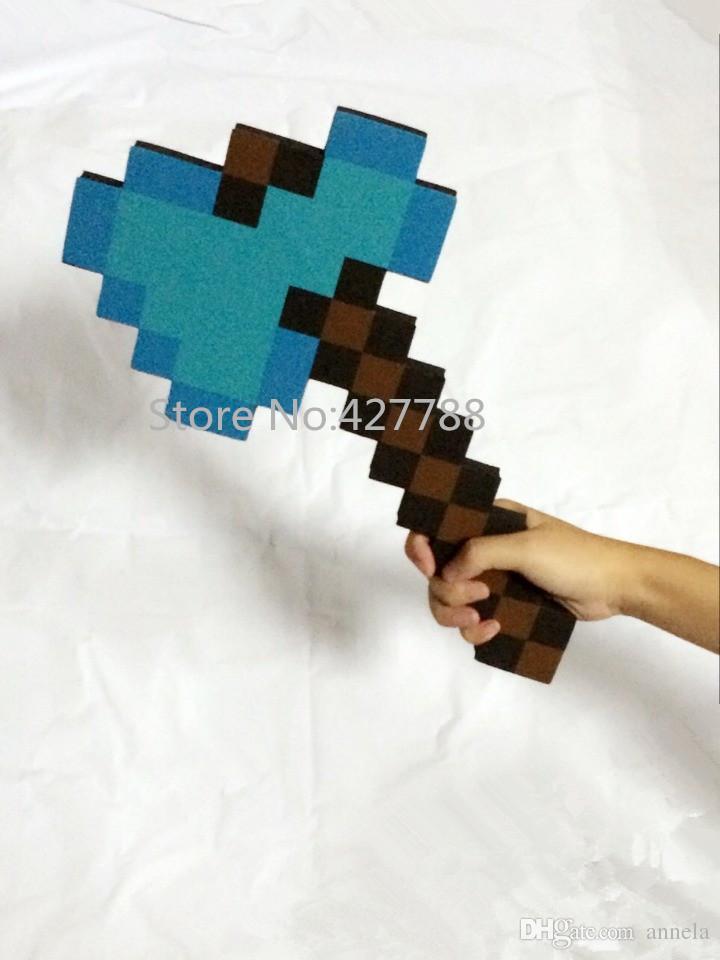Großhandel Stück Umweltfreundliche Eva Minecraft Beil Werbe - Minecraft spiele anschauen