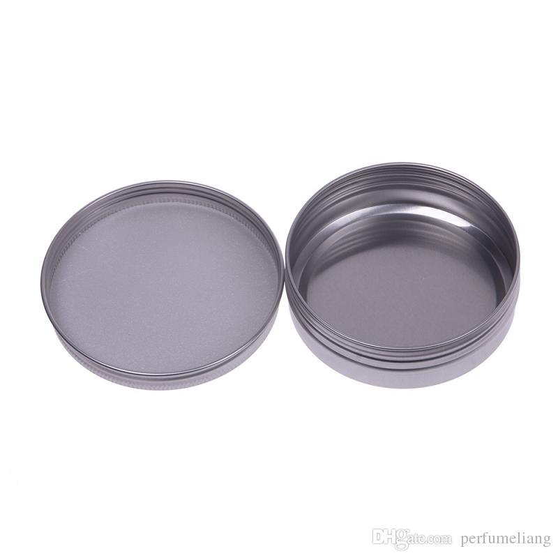 5 10 15 30 60 100 150 200 250 ml Envases cosméticos de aluminio vacíos Bote para bálsamo labial Lata para crema de pomada Crema de embalaje para manos