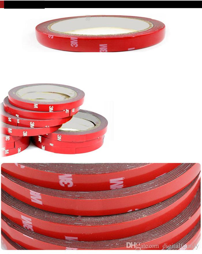 Led Strip 3528/5050 Foam Double Side Autoadhesive Tape 3M 8mm / 10mm / 20mm Sticky