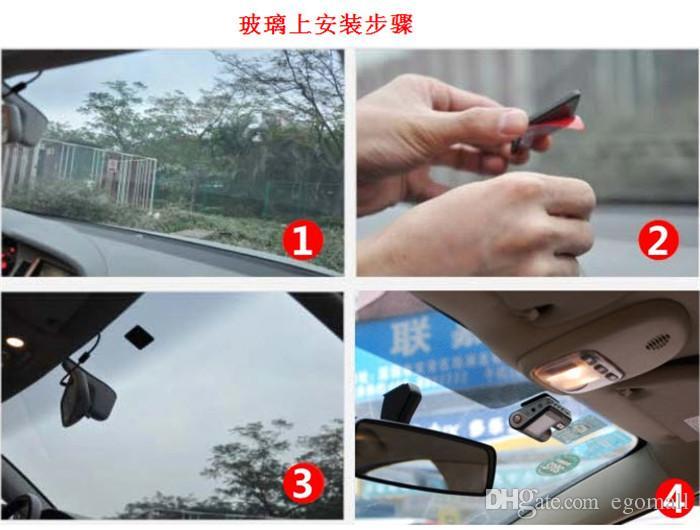 HD 720P Dash DVR Car Styling Dvrs Video Camera Recorder Crash Camcorder G-sensor Car Dvr i1000