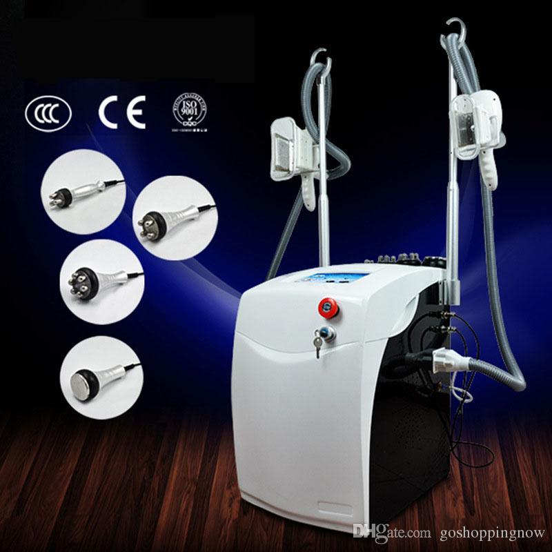 Kilo kaybı güzellik salonu ekipmanları Vakum Kavitasyon liposuction cryo dondurma yağ güzellik zayıflama ekipmanı / yağ donma makinesi