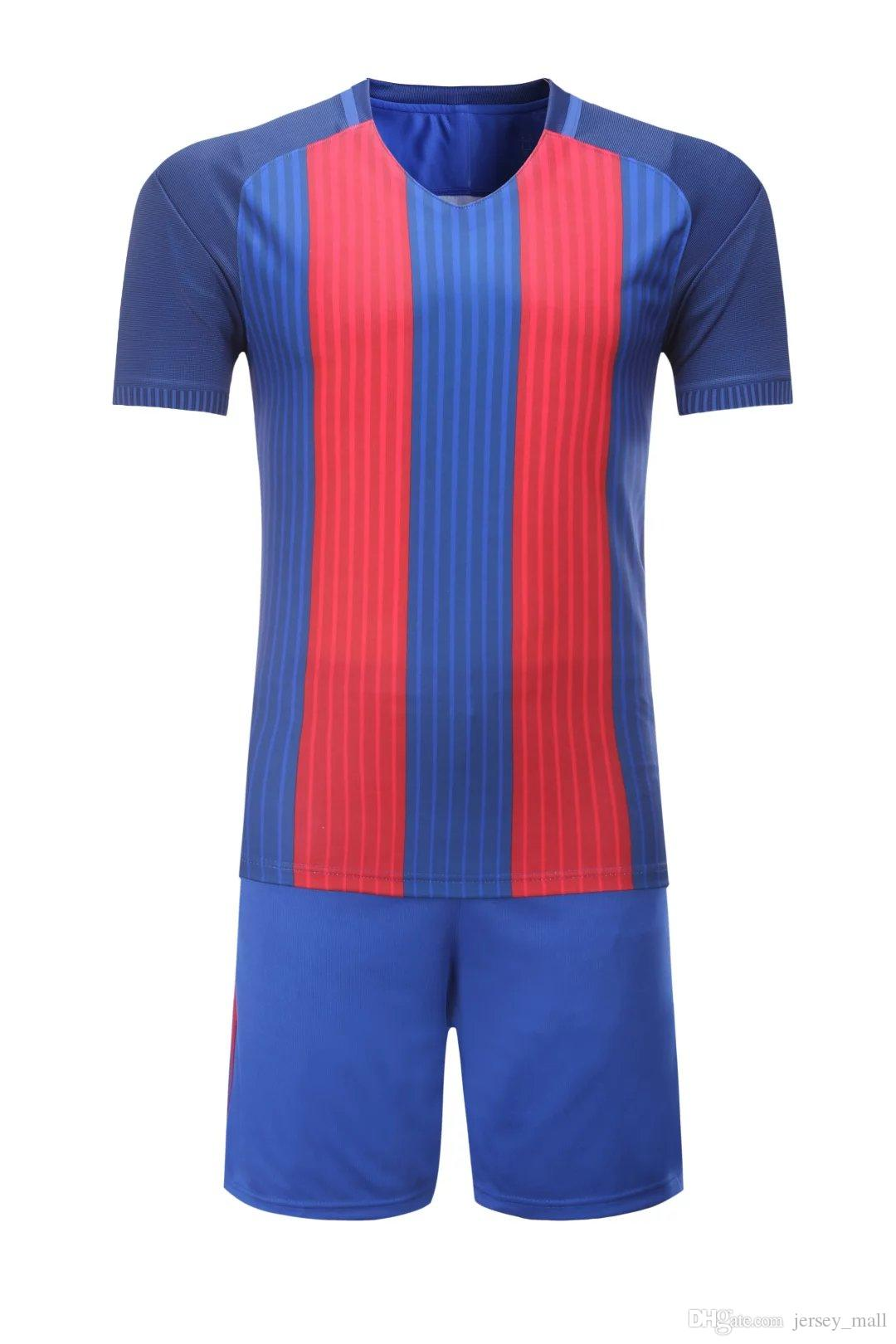 2018 soccer jersey kit wholesale tshirt shorts pants football
